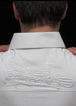 FrenchRoyal: designer white shirt, new generation formal wear