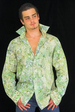 Sage, fashion design clubbing shirt for dating, dancing, love